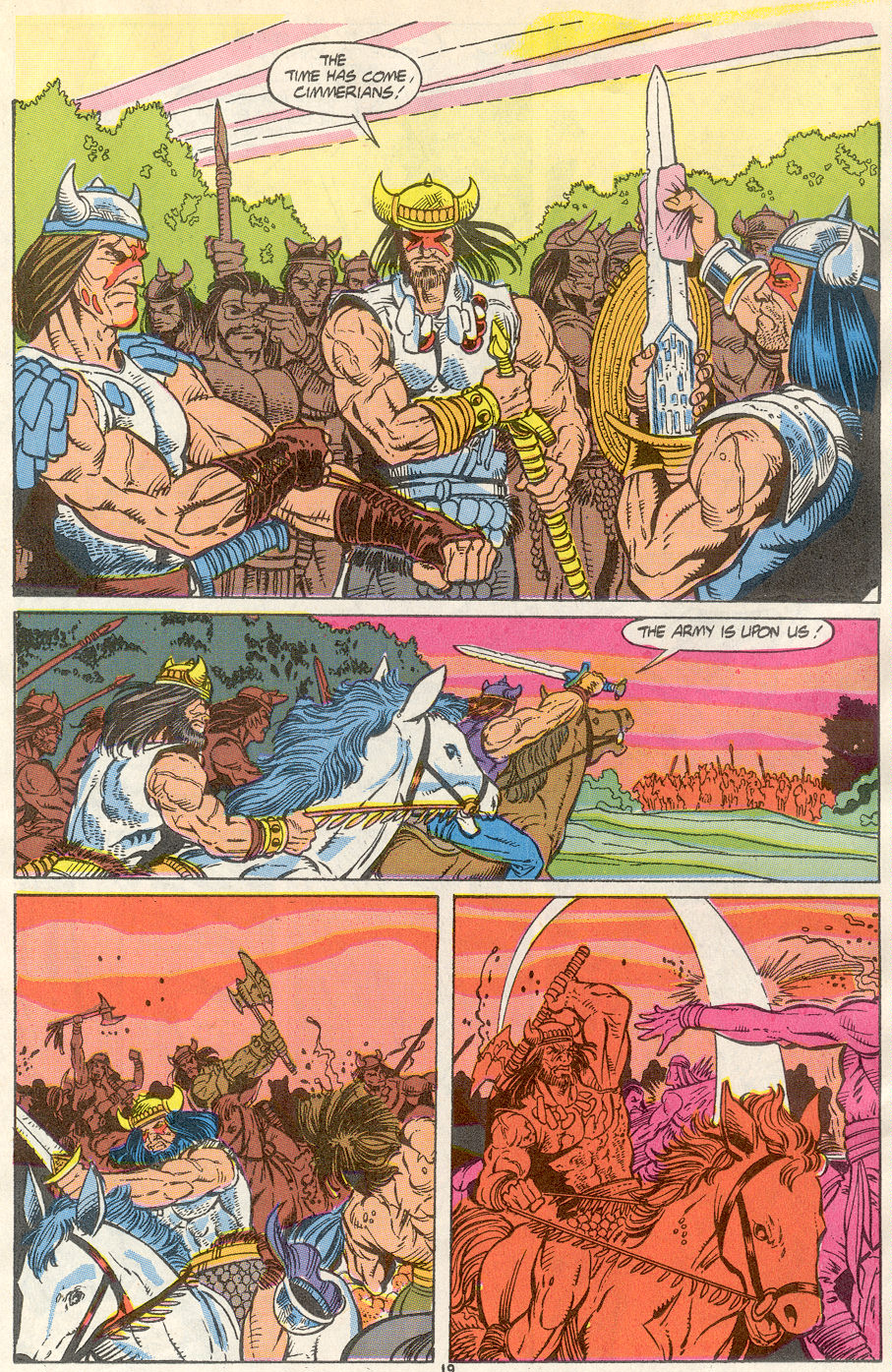 Conan the Barbarian (1970) Issue #234 #246 - English 16