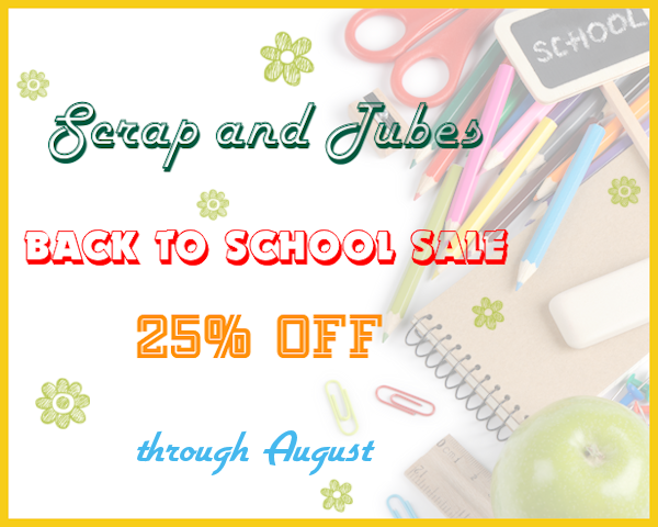 Back to School CU Digiscrap Sale