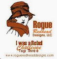 Rogue Redhead Designs challenge Top Three