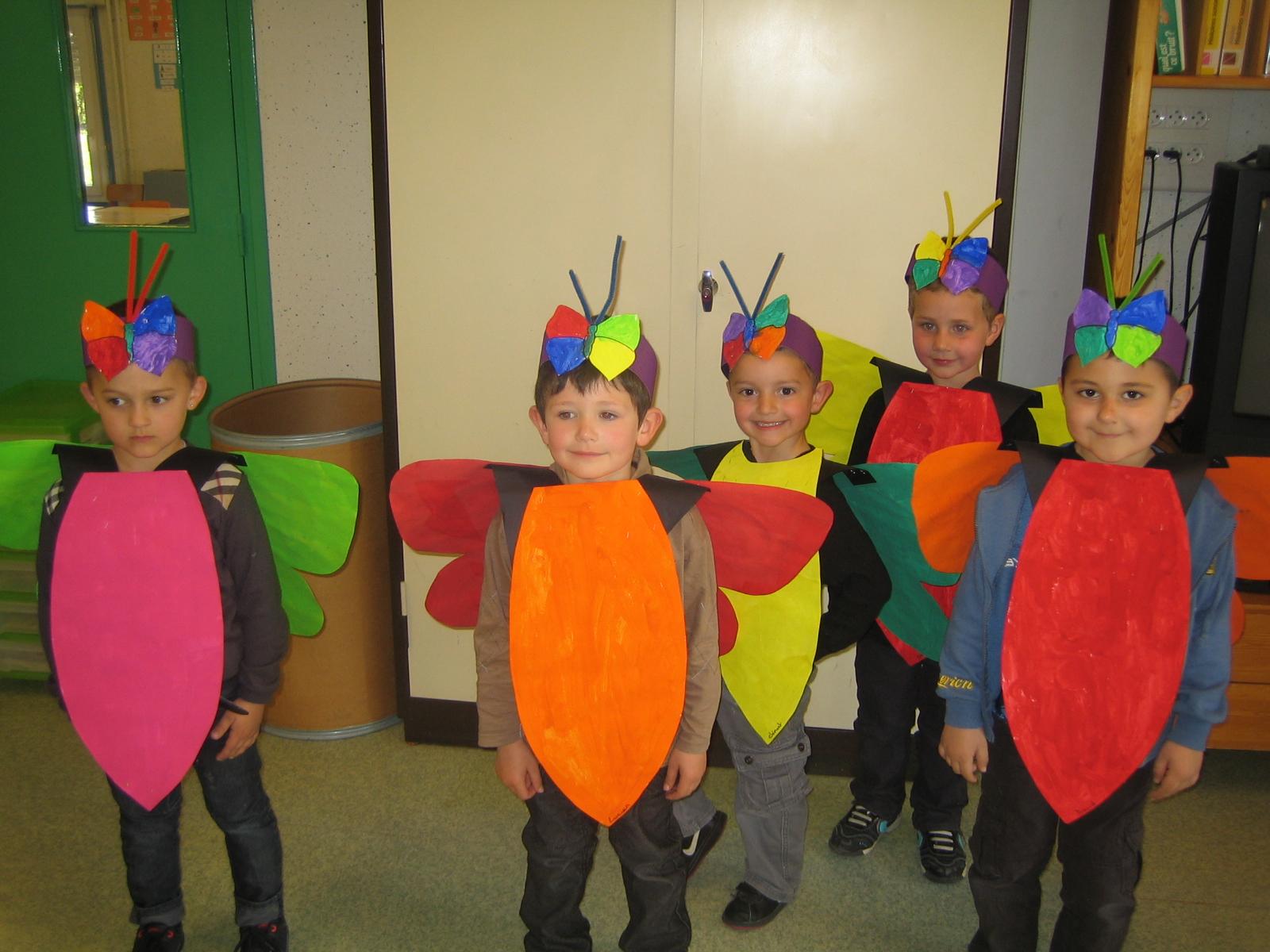 Les petites nouvelles de la classe maternelle le carnaval de oiry - Deguisement sac poubelle ...