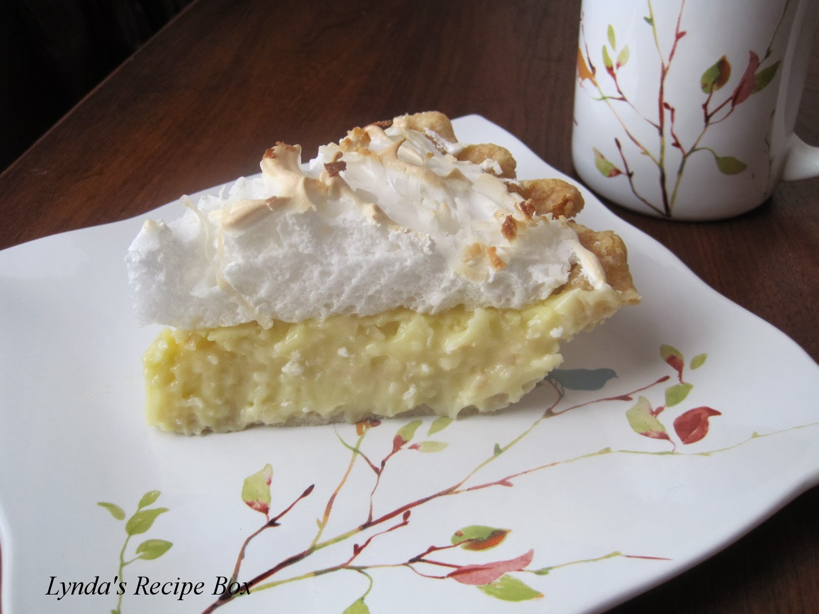 Classic Coconut Cream Pie