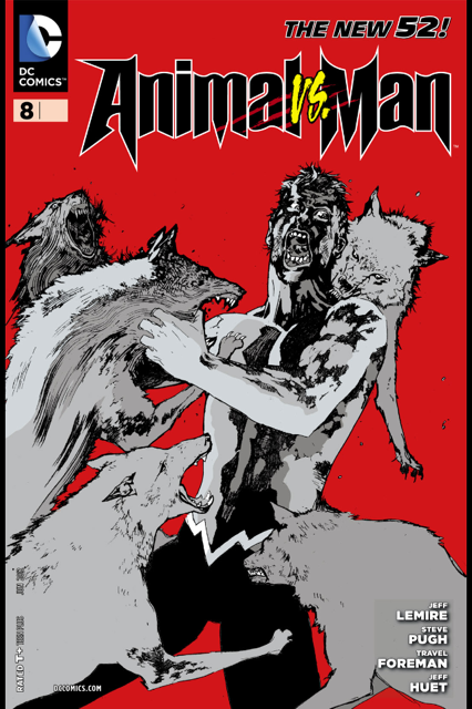 Rusted Mecha The New 52 Animal Man Issue 8 Review