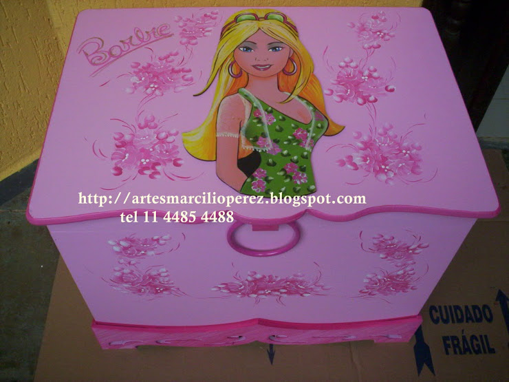 Bau Barbie 10 R$ 170,00
