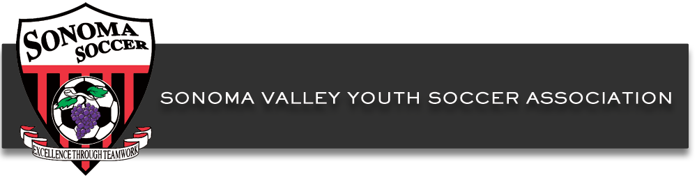 Sonoma Valley Youth Soccer Association.