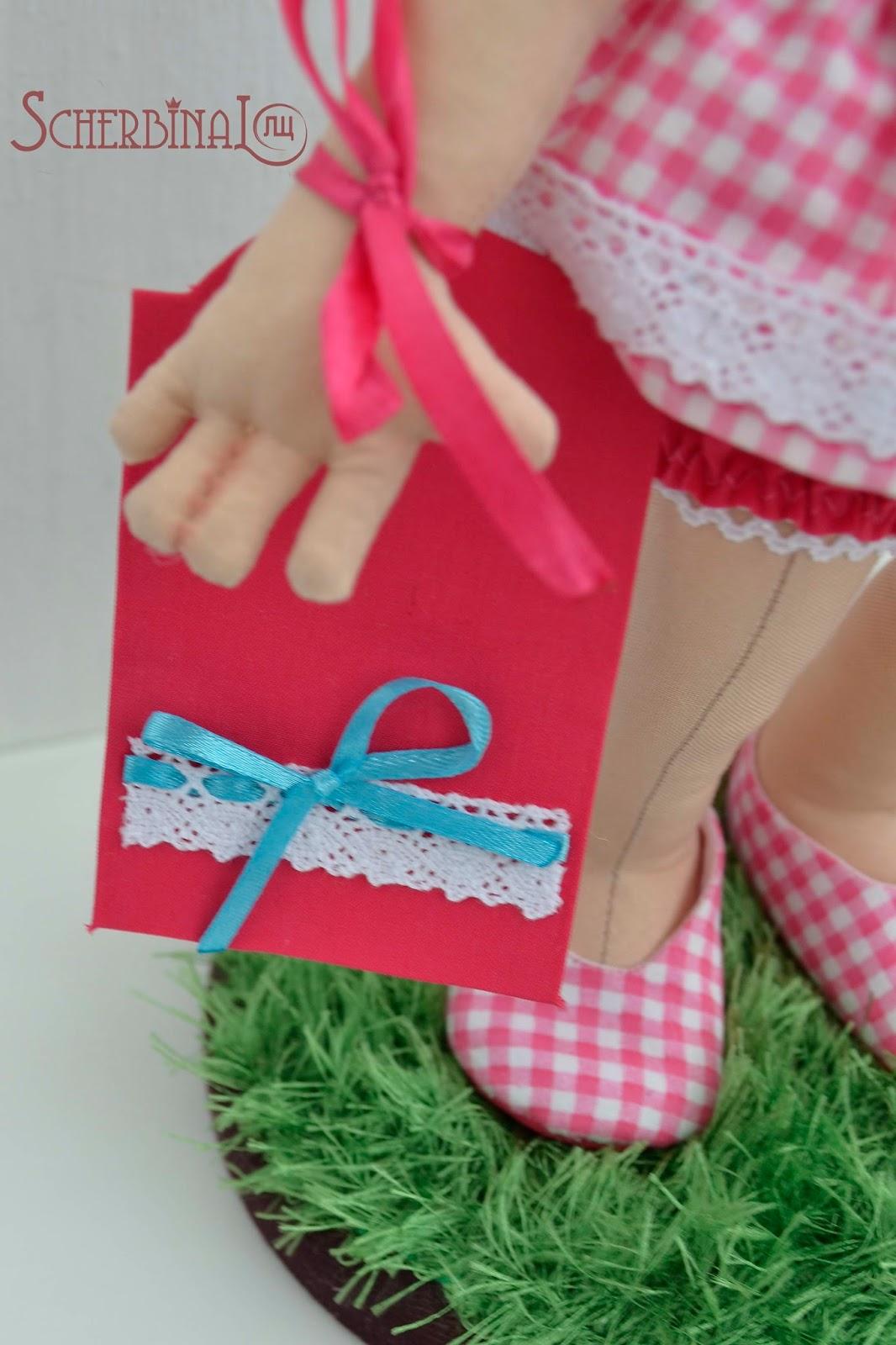 сертификат для куклы ручной работы