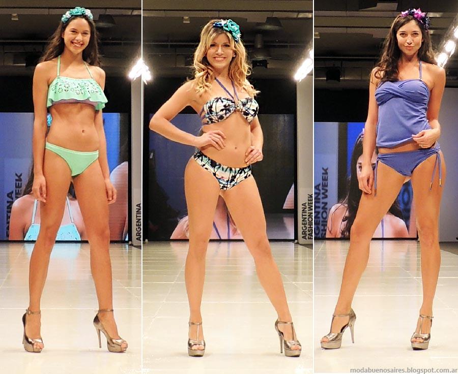 Marcela Koury  primavera verano 2015. Moda bikinis y ropa interior 2015.