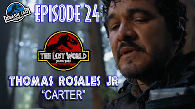 The Lost World's Thomas Rosales Jr. joins Jurassic Cast Podcast