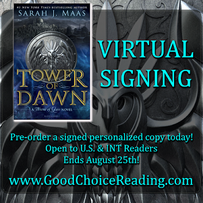 Tower of Dawn by Sarah J. Maas Virtual Signing