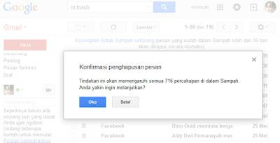 Tips Menghapus Pesan Gmail Secara Cepat 3