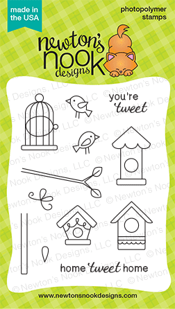 Tweet Talk Stamp set by Newton's Nook Designs
