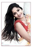Actress Madhavi Latha saree