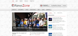 New Zone Blogger Template IS a Clean And Simple Style Free Premium Blogger Template