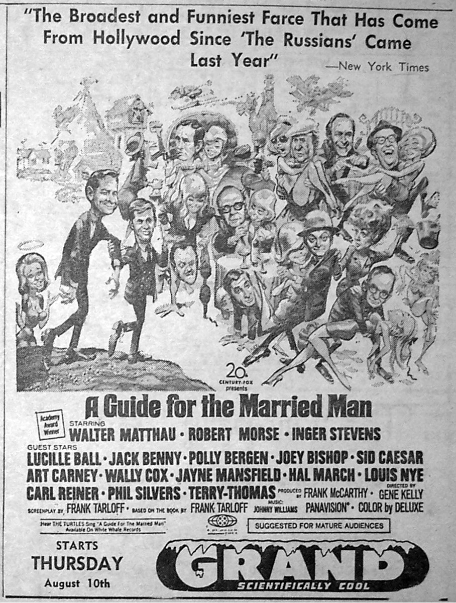 Jack davis and a guide for the married man