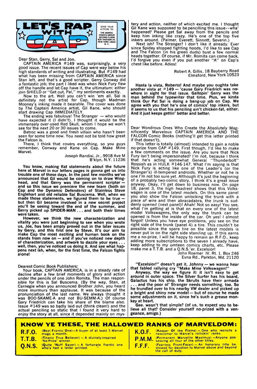 Captain America (1968) Issue #153 #67 - English 22