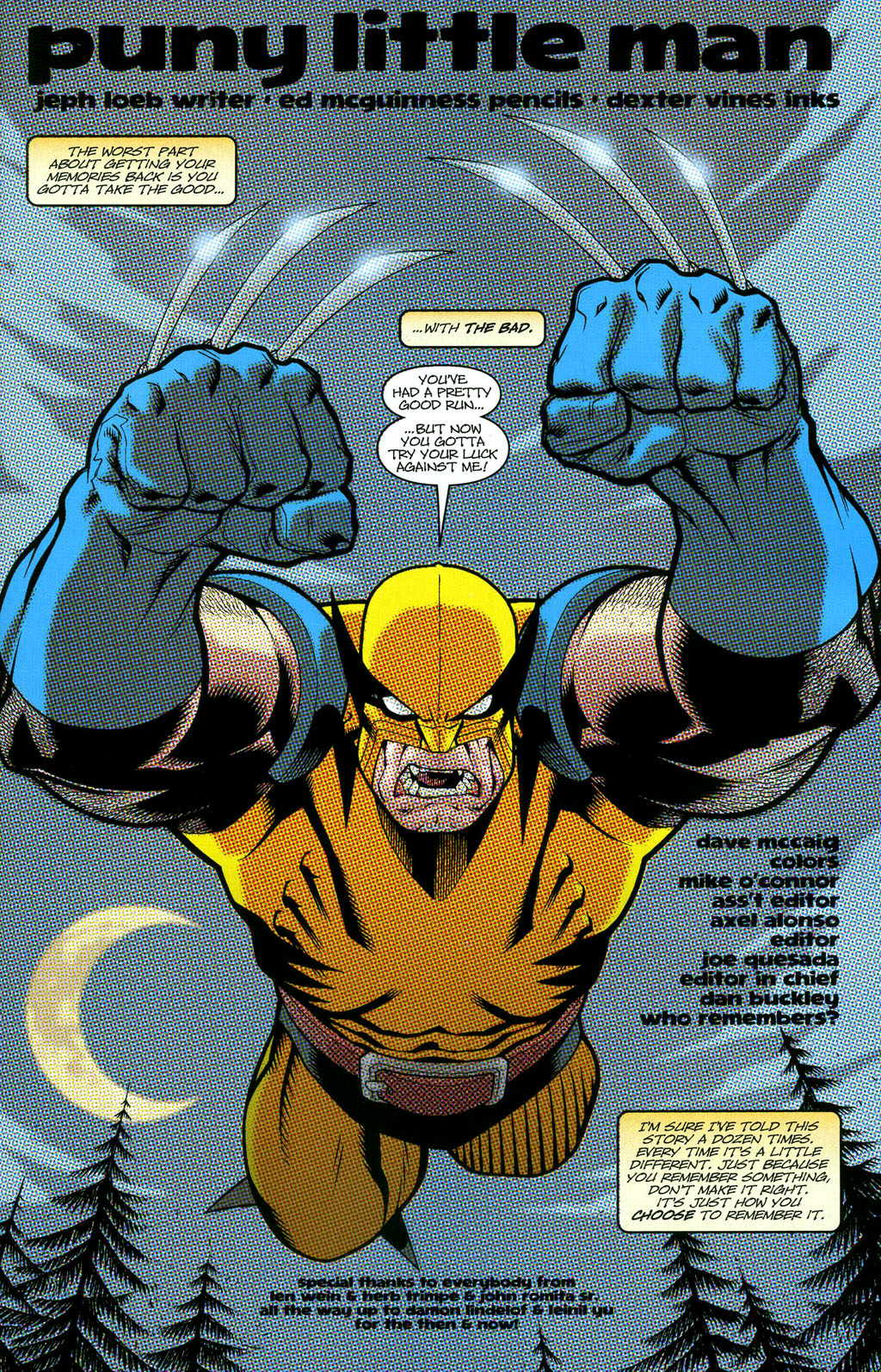 Read online Wolverine (2003) comic -  Issue #50 - 21