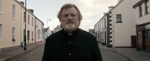 Calvary:Brendan Gleeson as Father James Lavelle | A Constantly Racing Mind