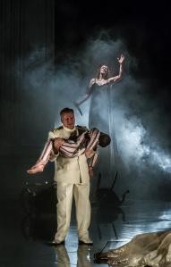 Medea act 3, (c) ENO /Clive Barda Medea - Jeffrey Francis, Sarah Connolly (c) ENO/Clive Barda