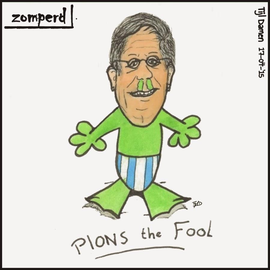 Zomperd: Plons the fool - Fons de Poel