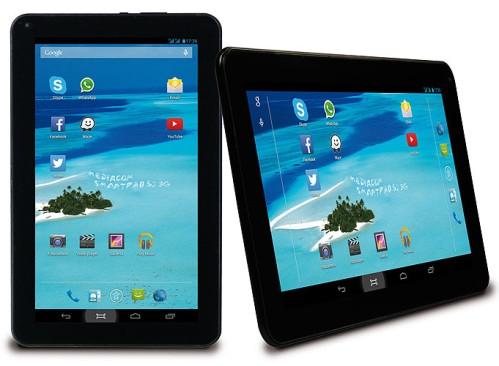 Design nella media per il nuovo tablet 3G + telefono da 10,1 pollici SmartPad S2 di Mediacom
