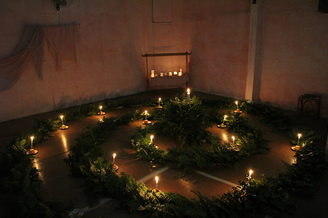 advent spiral in kolisko