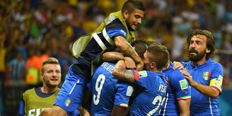 Preview Pertandingan Italia vs Kosta Rika, Berebut Tiket Lolos