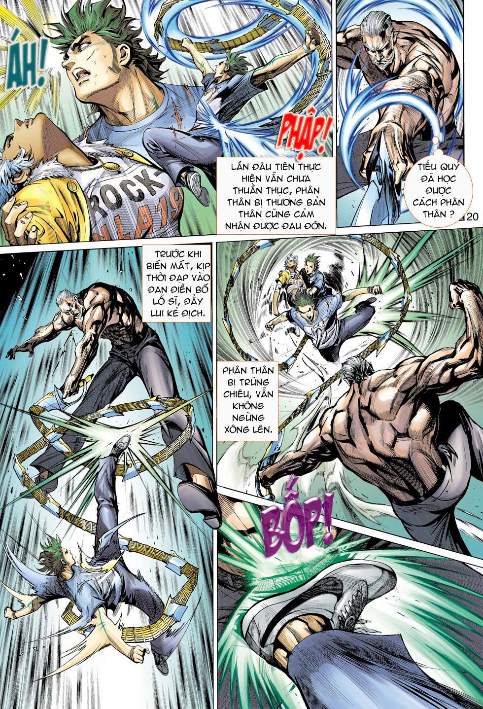 Thần Binh 4 chap 16 - Trang 20