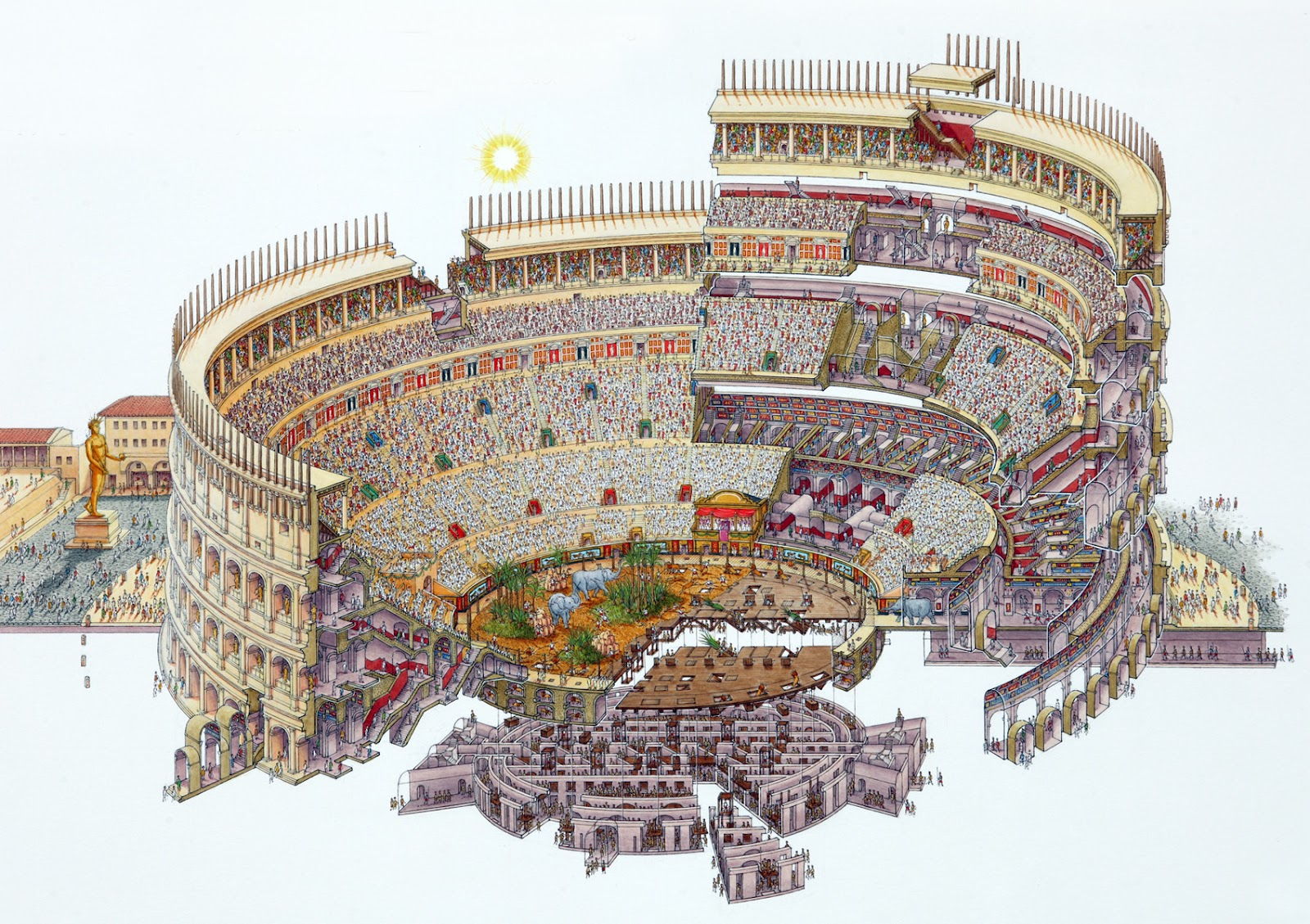 Top 5 Wonders Of The World Colosseum