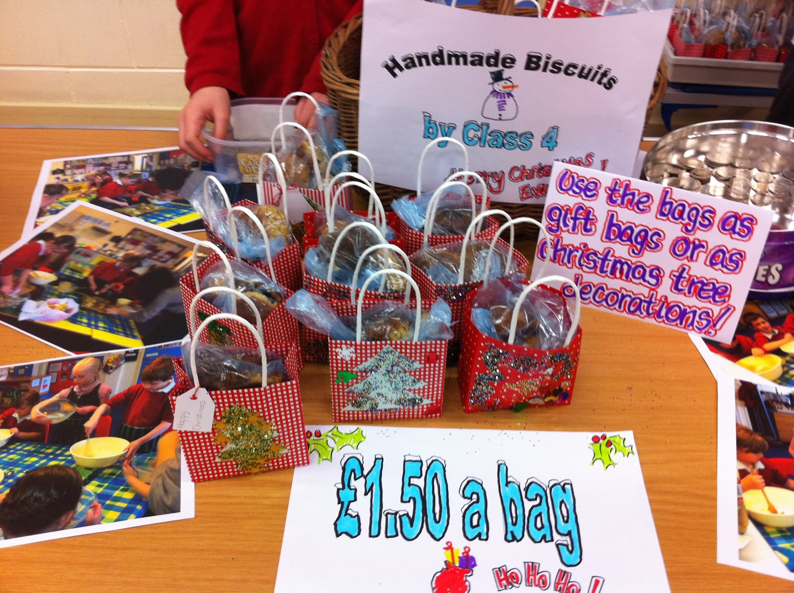 Christmas Fayre Craft Ideas Part - 21: It Was Wonderful To See So Many People, And To See So Many Wonderful Crafts,  Cards And Gifts For Sale. What Talented Kids We Have!