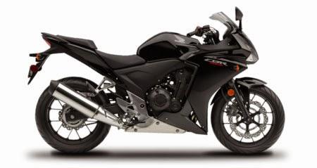 gambar Honda CBR500R Black