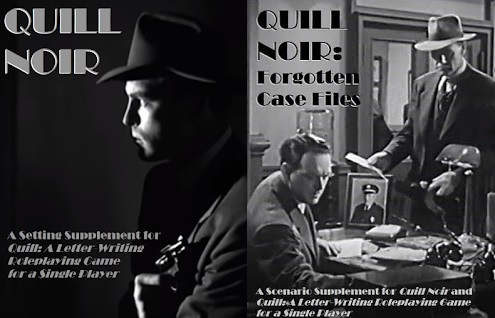 Quill Noir and Forgotten Case Files