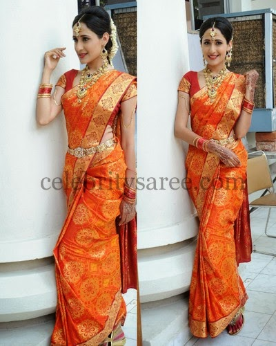 Prakhya Bridal Saree