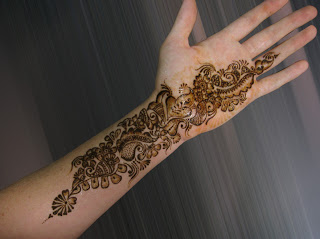 New Party Mehndi Designs : Christmas simple mehndi designs 2013 henna style for hands