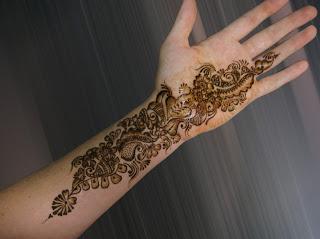 Simple Mehndi Mehndi Design : Christmas simple mehndi designs 2013 henna style for hands