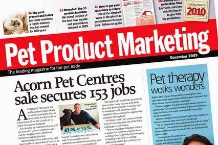 Thị trường sản phẩm cho thú cưng.