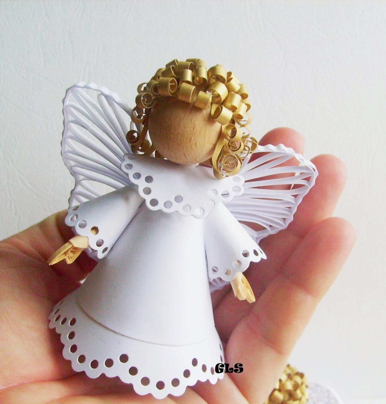 Изготовление ангелов своими руками