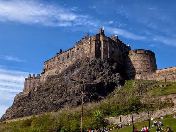 édimbourg edinburgh scotland écosse old town château castle