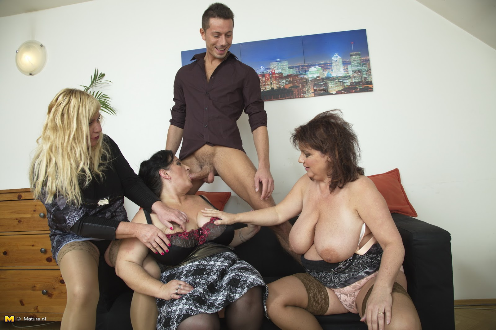 mature sex group