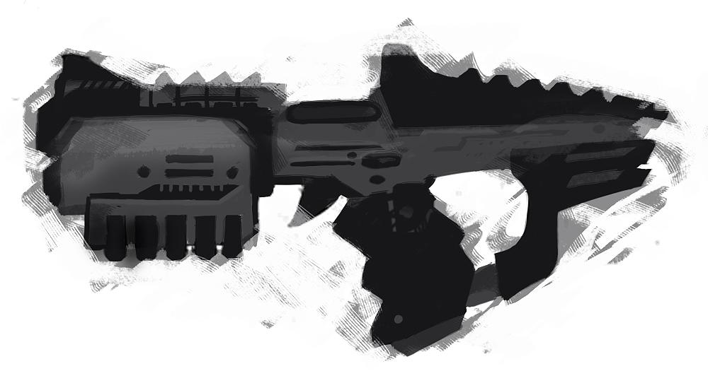 pistol speedpaint