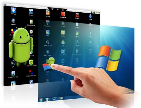 download windows apps on android