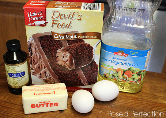Gourmet Chocolate Cake Mix Cookies Ingredients
