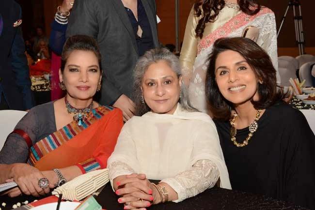 Shabana Azmi, Jaya Bachcan and Neetu Singh