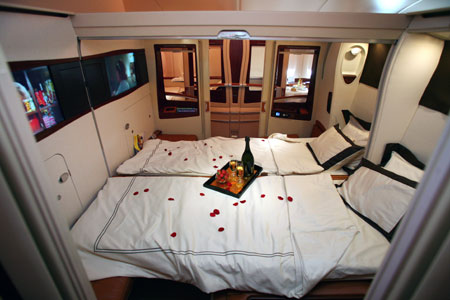 Tetsi world emirates airbus a380 for Interieur airbus a380