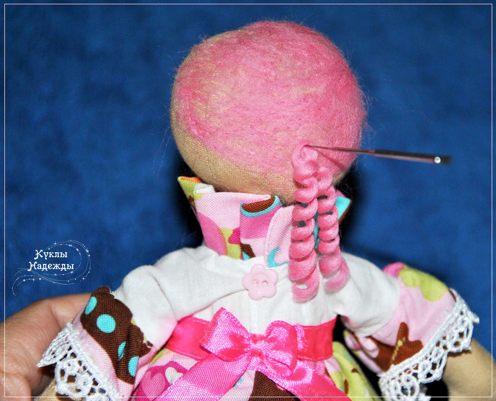Как кукле сделать кудряшки