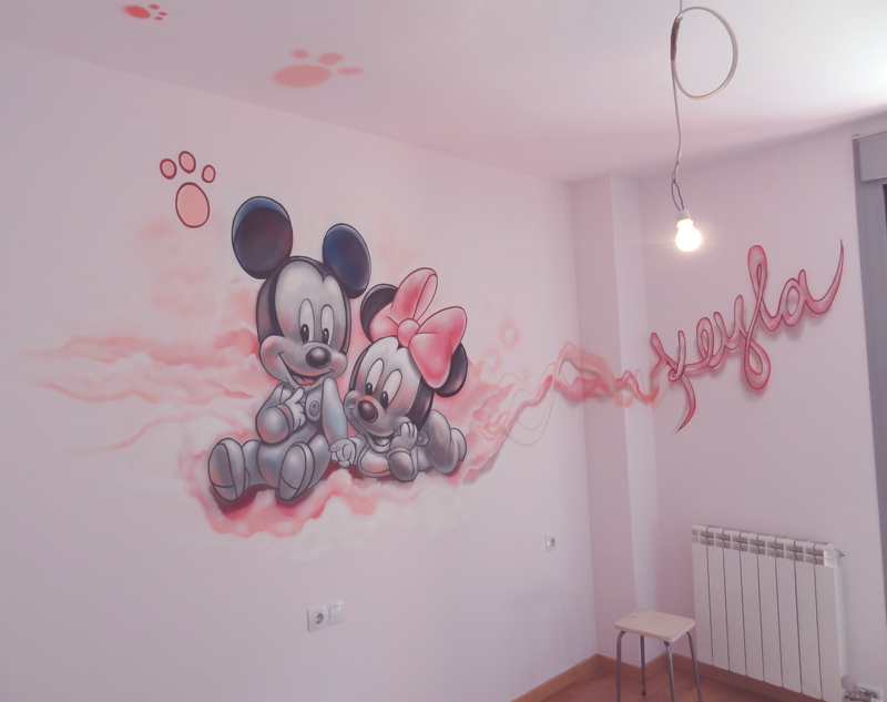 habitacin mickey y minnie
