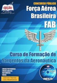 Apostila Aeronáutica CFS 2016 para Curso de Formação de Sargento da Aeronáutica.