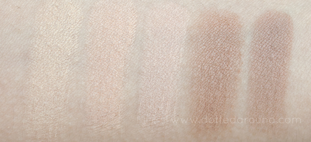 Urban Decay Naked Basics swatches dupes