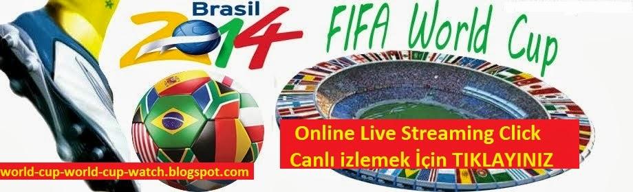 Watch Fifa World Cup 2014 Live Stream Football dünya kupası 2014 brezilya