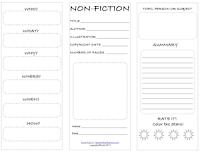 photo of NonFiction Student Worksheet, Free, PDF, nonfiction, Ruth S. TeachersPayTeachers.com