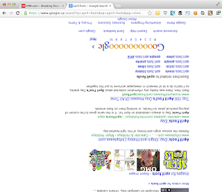 April Fools CSS Google Search