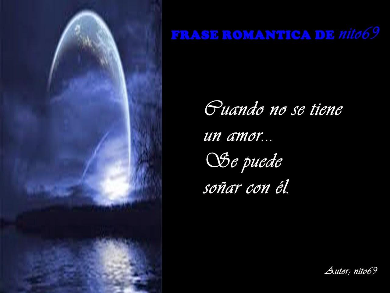 FRASE ROMANTICA DE nito69